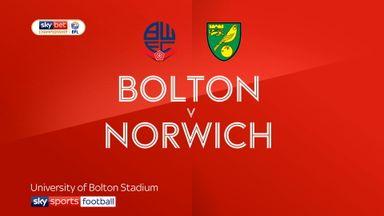 Bolton 0-4 Norwich