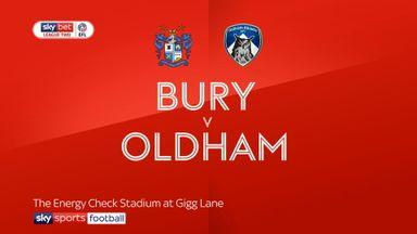 Bury 3-1 Oldham