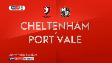 Cheltenham 1-0 Port Vale