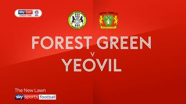 Forest Green 3-0 Yeovil