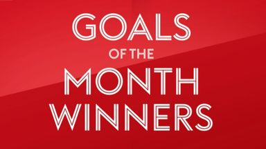 EFL Goal of the Month winners - January
