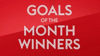 EFL Goal of the Month winners - January