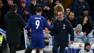 Sarri: Higuain can be useful for Hazard