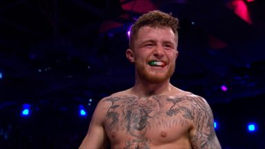 Gallagher grabs first-round submission