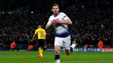 Vertonghen expects 'different' Dortmund