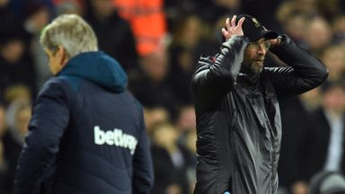 'Liverpool's dip not down to pressure'