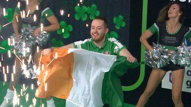 Lennon receives Dublin welcome