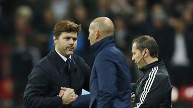 Poch reveals chat with Zidane, Becks