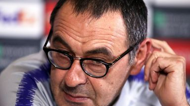 Sarri: We were nervous