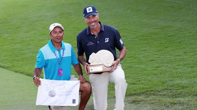 Kuchar to settle caddie row