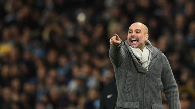 Pep delight at City fighting for PL