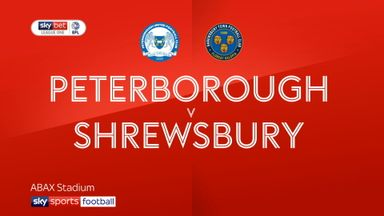 Peterborough 1-2 Shrewsbury