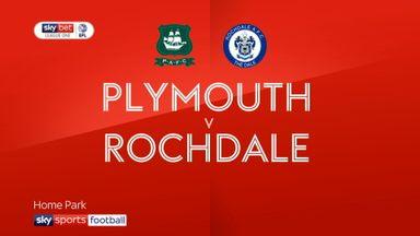 Plymouth 5-1 Rochdale