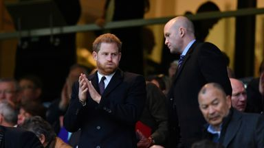 Prince Harry: Rugby is character building