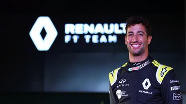 Ricciardo: I'm excited and ready to work