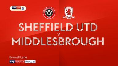 Sheff Utd 1-0 Middlesbrough