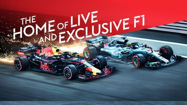 Sky Sports F1 Start of Season launch promo