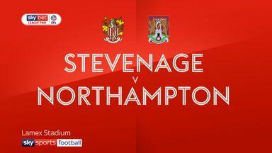Stevenage 1-2 Northampton