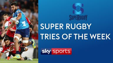 Super Rugby: Tries of the week