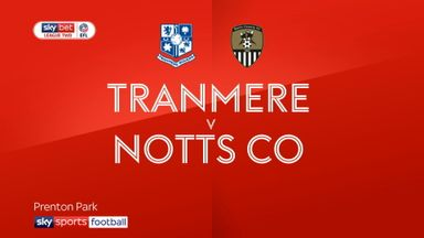 Tranmere 1-0 Notts County