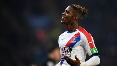 Zaha: My future is at Palace