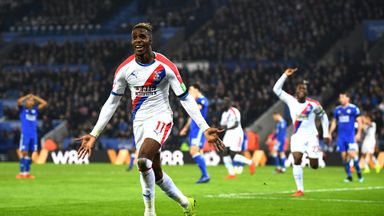 'Important Zaha produces vs Brighton'