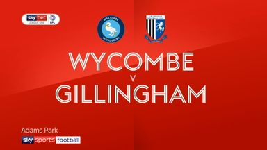Wycombe 0-1 Gillingham