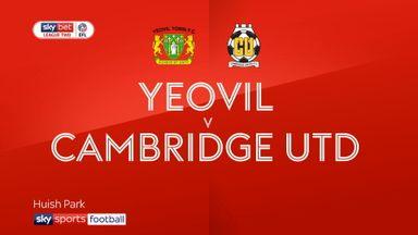 Yeovil 1-0 Cambridge