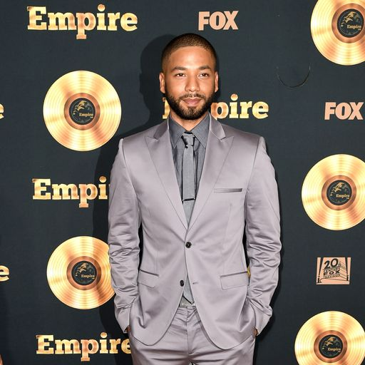 Jussie Smollett turns himself in over claim he faked attack