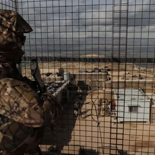 UK boost to Lebanon to stop terrorists reaching Europe