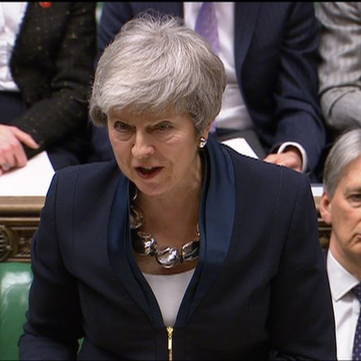 PM commits to votes on no-deal Brexit or Brexit delay