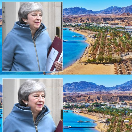 EU rules out Brexit 'deal in the desert' on upcoming Theresa May summit trip