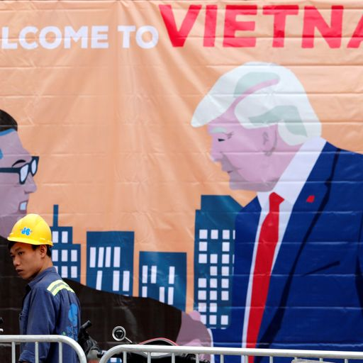 Summit going on: Will Vietnam show Kim and Trump a future?