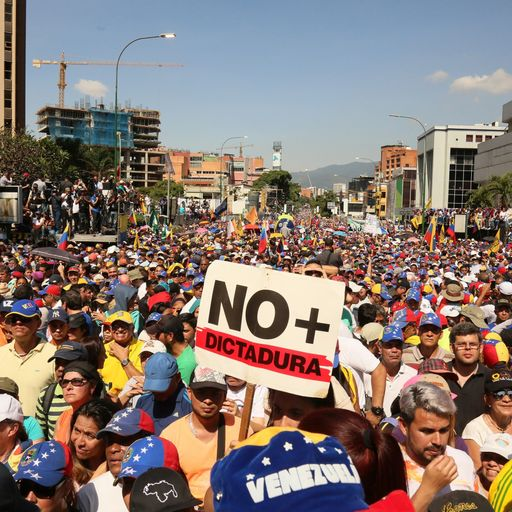 Venezuelans feel they are on the cusp of change