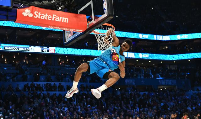All-Star 2019: Hamidou Diallo produces dominant display to win Slam Dunk Contest