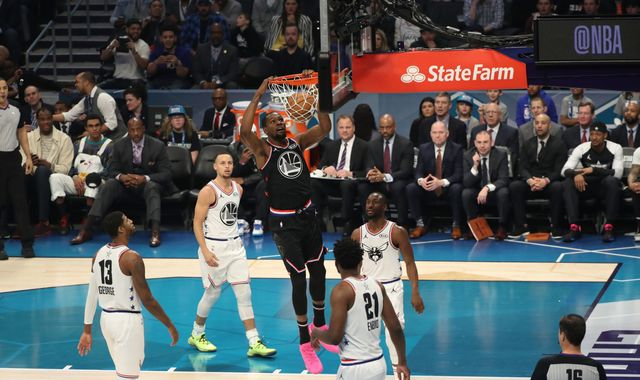 All-Star 2019: Kevin Durant scores 31 points to lead Team LeBron to victory in All-Star Game