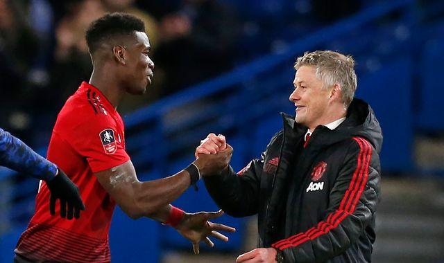 Paul Pogba wants Ole Gunnar Solskjaer to get Manchester United job full time