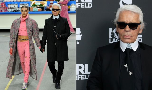 Fashion icon and Chanel boss Karl Lagerfeld dies aged 85