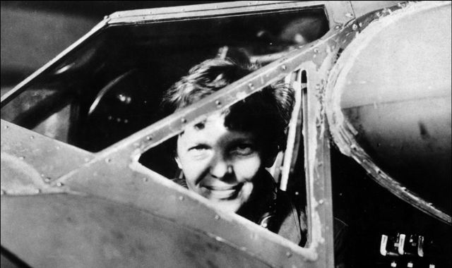 "Amelia Earhart: Footage of ""aluminium patch"" could explain fate of famous aviator"