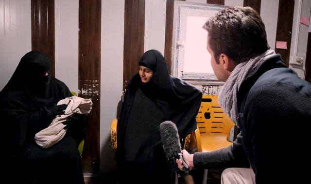 IS bride Shamima Begum tells Sky News: 'A lot of people should have sympathy for me'
