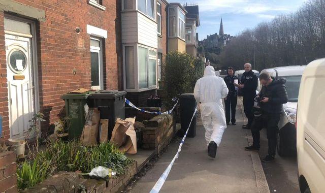 Murder arrest as twins among three elderly men found dead in Exeter