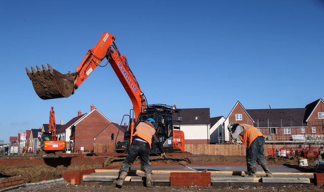 One million homes given go-ahead but haven't been built, say councils