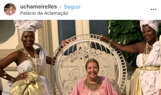 Vogue Brazil executive Donata Meirelles quits over 'slavery' party picture