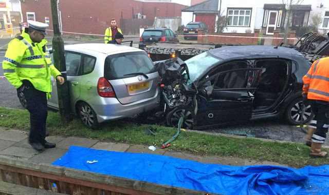 Eltham crash: Man and woman in their 70s die after van in police chase hits their car