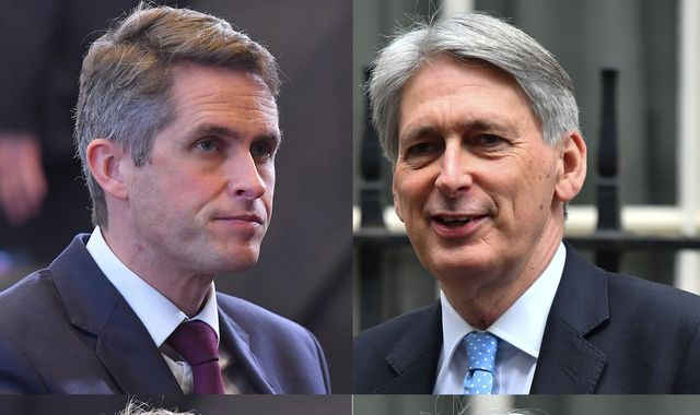 UK-China row: Philip Hammond undermines Gavin Williamson's warship carrier plans