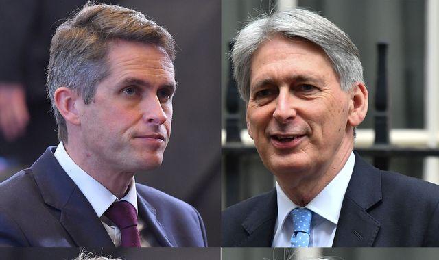 UK-China row: Philip Hammond undermines Gavin Williamson's warship carrier plans
