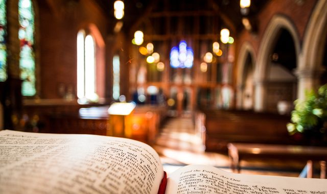 Churches no longer need to hold services every Sunday