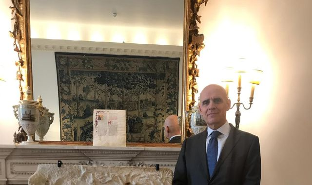 Ancient looted artwork returned to Italy by Christie's auction house