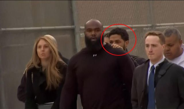 Empire actor Jussie Smollett freed on bail after 'staging racist attack over salary'