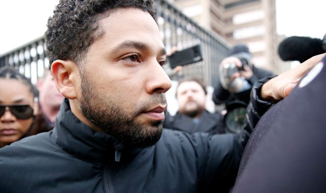 Jussie Smollett axed from Empire episodes after 'race attack hoax'